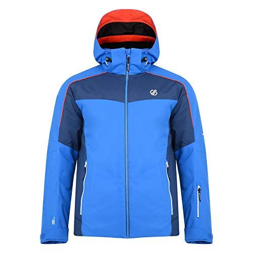 Dare 2b - Chaqueta de esquí y Snowboard para Hombre con Capucha Plegable, diseño de Manga articulada y Falda de Nieve, Impermeable, Hombre, Color Oxford Blue/Admiral Blue, tamaño XX-Large
