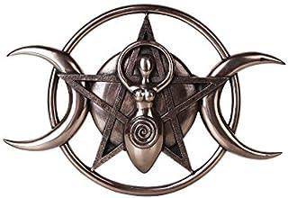 Pacific Giftware The Spiral Goddess Feminine Power Spiritual Triple Goddess Wall Decorative Plaque 12 inch Bronze Finish