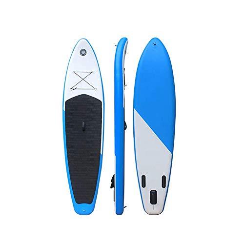 XIUYU Aufblasbare Surfbrett mit Paddel Schlauchboot Brett Stand Up Paddle Board 10'X6