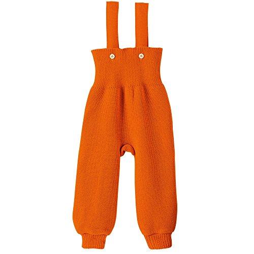disana Baby/Kleinkinder Strick-Trägerhose aus Bio-Schurwolle