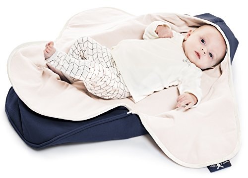 Baby Blanket Coco Nore For Car Seat and Travel For colder weather 35 x 28 inch Newborn upto 10 months 90 x 70 cm Wallaboo 100/% Pure Cotton Color: Pink