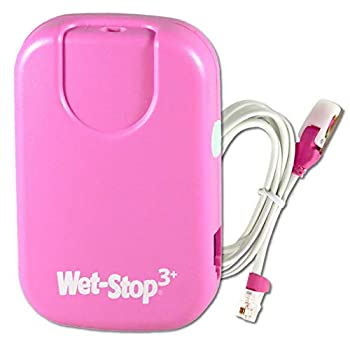 Wet-Stop 3 Pink Bedwetting Enuresis Alarm with Loud Sound and Strong Vibration for Boys or Girls Proven Solutions for Bedwetters