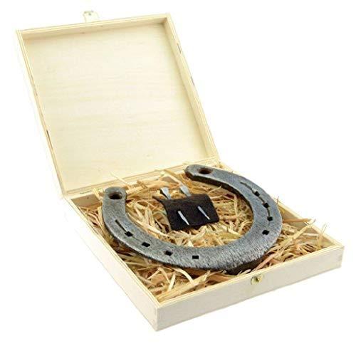 Hufeisen-Box mit Motiv