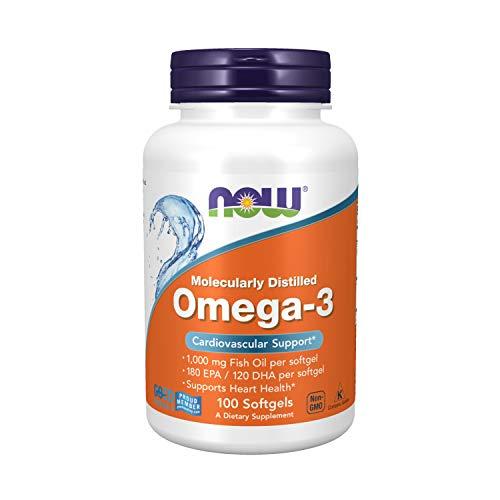 Omega 3 100 cápsulas - NOW