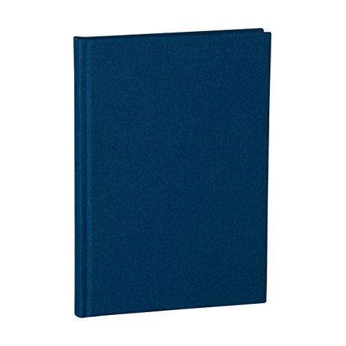 Semikolon (356164) Notizbuch Classic A5 dotted marine (blau) - Buchleinenbezug - 160 Seiten mit cremeweißem 100g/m²- Papier - Lesezeichen