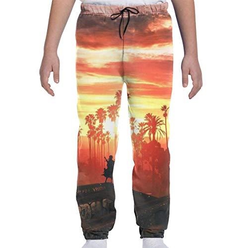 Pantalon de survêtement pour la Jeunesse Pantalon de Sport ou de détente, Pantalon de survêtement Wind Viper pour garçons, Filles, Adolescents