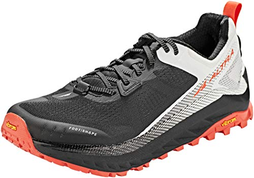 ALTRA Herren Olympus 4 Schuhe, Black-White, US 8