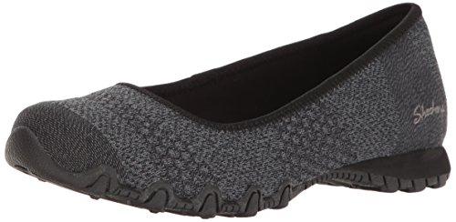 Skechers 49225 - Zapatillas para Mujer, Color Negro, Talla 37 EU