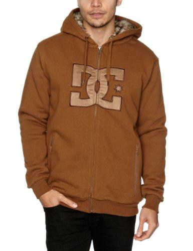 DC Vêtements Rabid Premium Polaire Entièrement zippé Pull pour Homme Petit Dirt