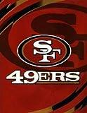 NFL SAN Francisco 49ERS Royal Plush Raschel Blanket King Size