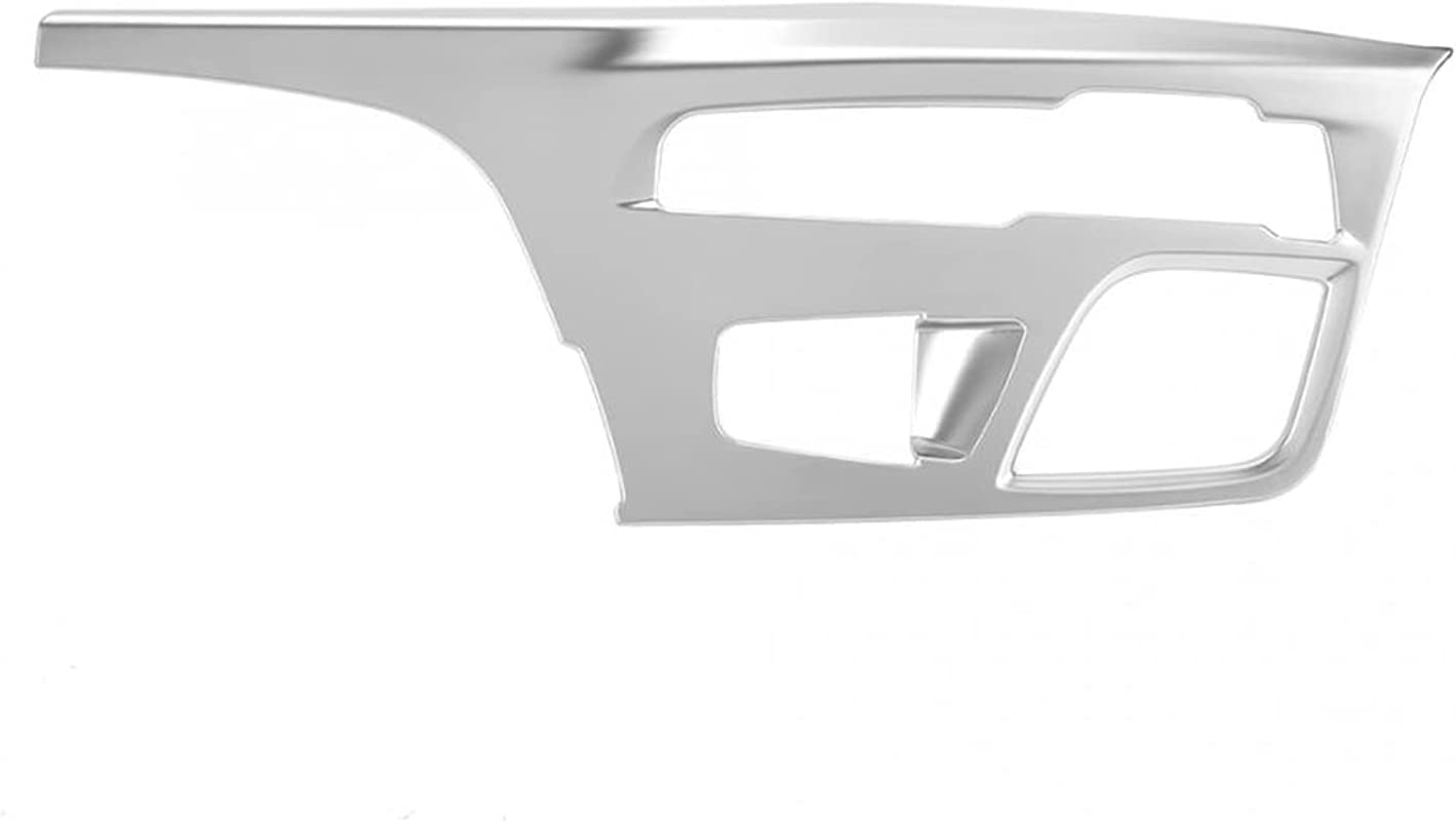 Anteprima 1Pc Center Gear Max 77% OFF favorite Shift Trim Panel Cover Console Chrome