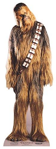 falksson Aufsteller aus Pappe Chewbacca - Star Wars in Lebensgröße 197 cm