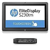 HP 800 G2 Mini PC con monitor 23 táctil, Core I5 6gen, RAM 8 GB, SSD 240 GB, Windows 10 Pro + Office 2019 Pro Plus (Reacondicionado Certificado)