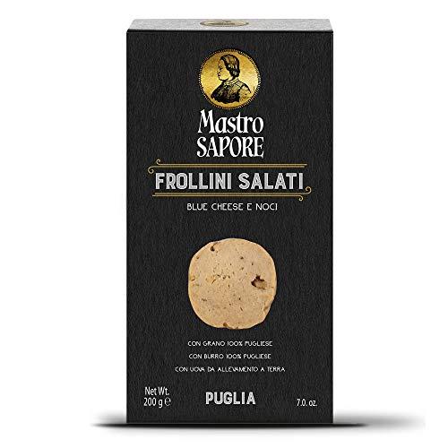 Mastro Sapore - Frollini Kekse Mit Blue Cheese Und Walnüsse, 200g