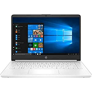 HP 14s-dq1001ns – Ordenador portátil de 14″ FullHD (Intel Core i3-1005G1, 8 GB de RAM, 256 GB SSD, Intel UHD Graphics, Windows 10 ) Blanco – teclado QWERTY Español
