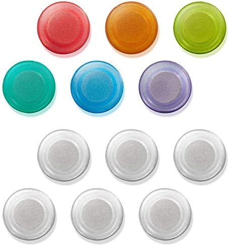 MessageStor Round Magnets for Dry Erase Board Glass White Board Bulletin Board Refrigerator product image