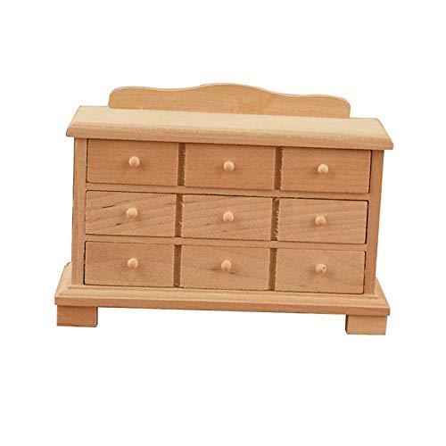 sharprepublic 1/12 casa de muñecas Accesorio Miniatura 1/12 en Miniatura Armario armarios de Cocina Muebles Juguete Micro decoración para casa de muñecas