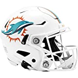 Riddell NFL Miami Dolphins Speedflex - Casco de fútbol auténtico, tamaño grande...