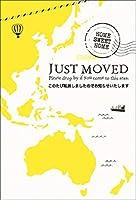 【私製10枚】オリジナル引越MAPはがき「ここからここへ」カスタマイズシール付き (イエロー/オセアニア)