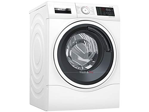 Bosch Serie 6 WDU28540EU Independiente Carga frontal A Blanco lavadora - Lavadora-secadora (Carga frontal, Independiente, Blanco, Izquierda, Botones, Tocar, Acero inoxidable)