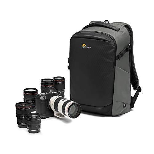 Lowepro Flipside BP 400 AW III Kamerarucksack für spiegellose/DSLR-Kameras - dunkelgrau - rückwärtiger und seitlicher Zugang - Fachteiler anpassbar - für spiegellose Kameras wie Sony α7 - LP37353-PWW