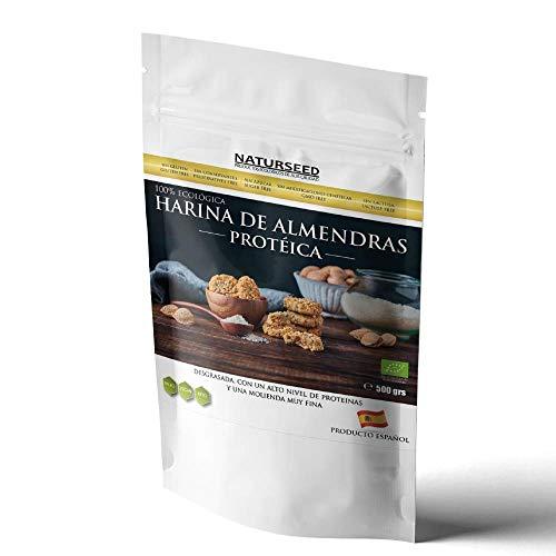 NATURSEED Harina de Almendra Proteica Desgrasada Ecológica (500GR)