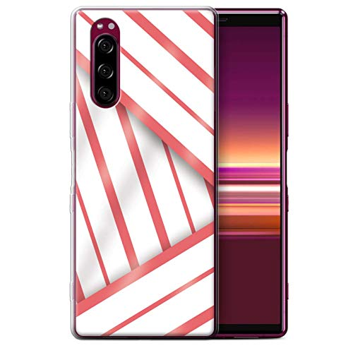 eSwish telefoonhoesje/Cover/Skin/SXP-GC/Seaside Fashion Collection Sony Xperia 5 (2019) Koraal Jurk