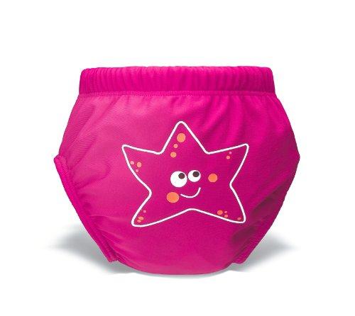 HEAD Kinder Badehose SWS Aqua Nappy, Pink, L