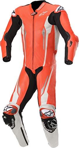 Alpinestars Racing Absolute Tech-Air - Mono de piel perforado para moto, talla...