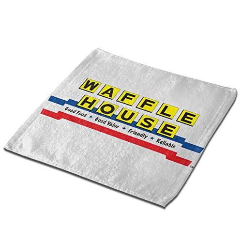 Linqarcon Soft Absorbent Towels Waffle House Multi-Purpose Bathroom Kitchen Stylish 1 PCS