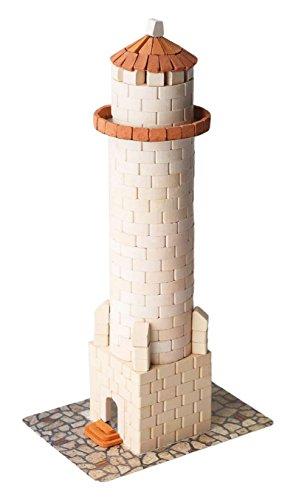 Wise Elk Toy House construction set, real ceramic bricks, gypsum...