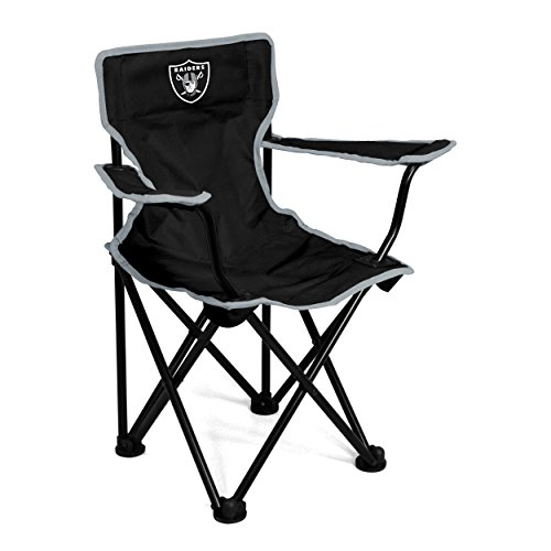 Logo Brands Officially Licensed NFL Las Vegas Raiders Unisex Toddler Folding Chair, One Size, Team Color