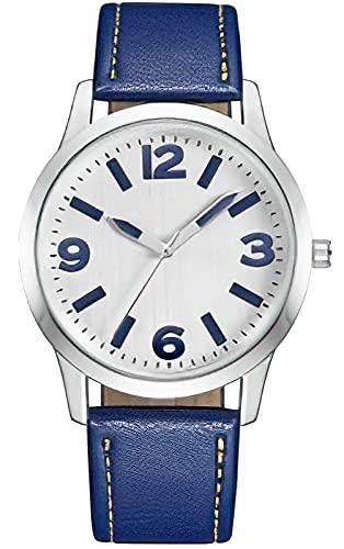 Reloj Hombres,CIVO Reloj Militar Deportivos para Hombre 3ATM Impermeable Reloj de Pulsera de Cuarzo para Hombre con Correa en Piel Genuina