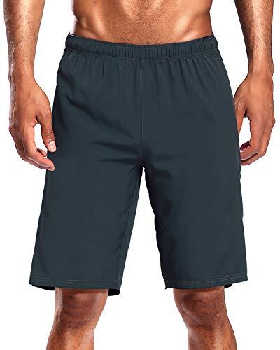 CAMEL CROWN Pantalones Cortos de Deporte Hombre Secado Rápido Verano Running Pantalón Shorts Transpirables Ligeros con Bolsillos para Correr Baloncesto Tenis Fitness Gym Training Jogging Marathon