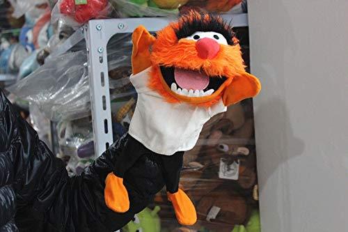 LIZHIOO Handpuppe The Muppets Puppet Kermit Frog Bear Schwedischer Koch Miss Piggy Gonzo Plüsch Gefüllte 28cm Handpuppen Baby Kids ( Color : Animal )