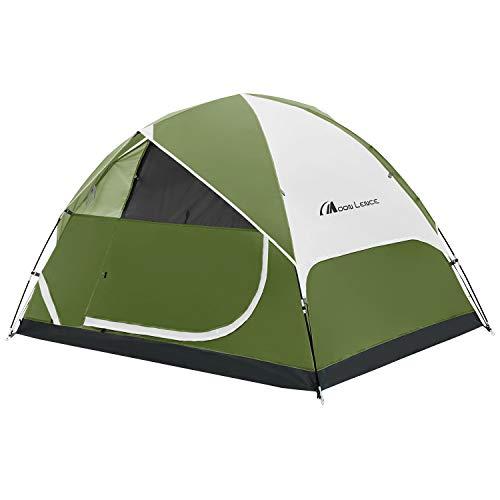 Moon Lence テント 2/4/6人用 アウトドア用 自立式 二重層 コンパクト PU1000mm ハイキング キャンプ 防災 組立簡単 通気