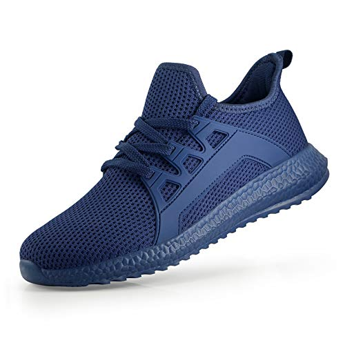 SEVEGO Women's Fashion Sneakers, Breathable Athletic Running Shoes, Non-Slip Walking Shoes, Lightweight Tennis Shoes, Navy