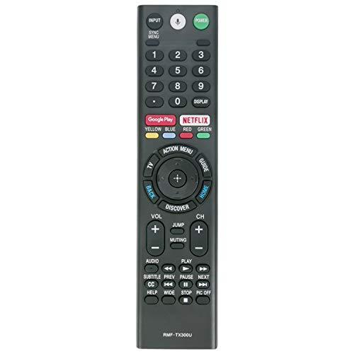 Best Price NewRMF-TX300U ReplacementRemoteControlCompatible withSonySmart TV XBR-43X800E...