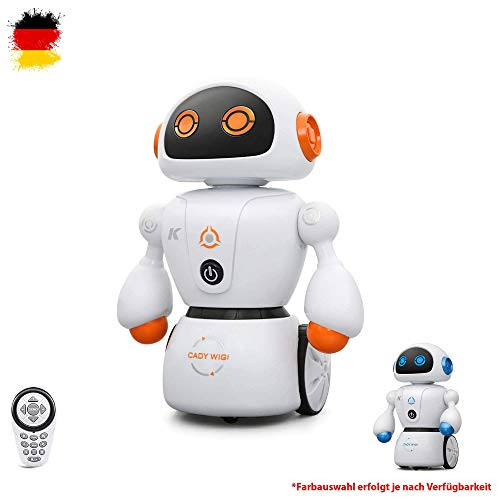 HSP Himoto RC Ferngesteuerter programmierbarer intelligenter Roboter mit Tanz, Musik, LEDs, Maze-Mode und vieles mehr, Komplett-Set