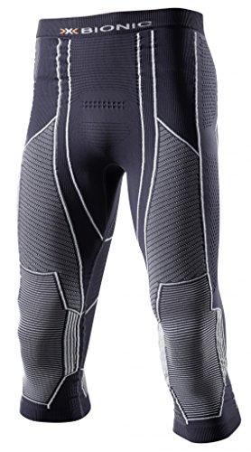 X-Bionic Moto Energizer Light Man UW M Legging Homme, Charcoal/Pearl Grey, XXL