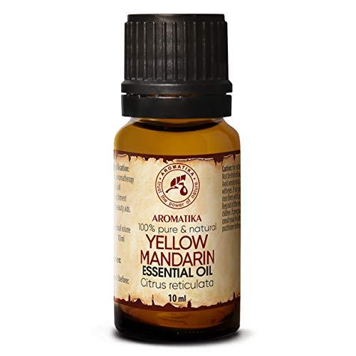 Mandarijn olie - etherische olie 10ml, 100% puur & natuurlijk, essentiële olie - aromatherapie - geurolie - geurverspreider - ontspanning - toevoegen aan bad & cosmetica - massage - wellness - aroma lamp of elektrische diffuser
