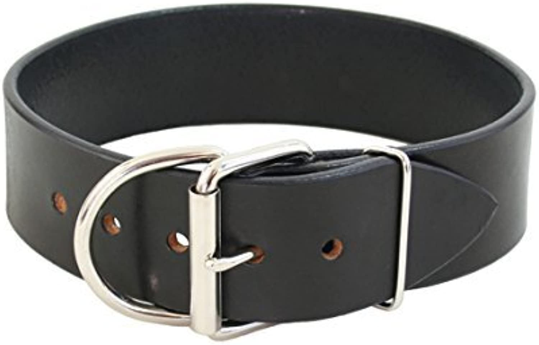 Auburn Leathercraft Tuff Stuff Collar 2  x 34  Black