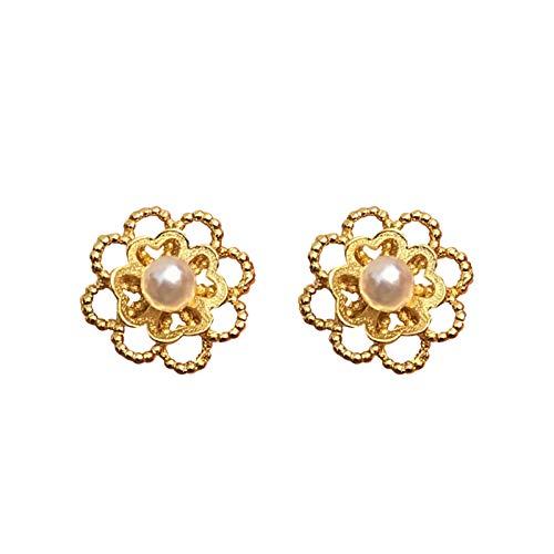 Xiaokeai Ear Stud Jewelry French Pearl Earrings Female 925 Silver Temperament Net Celebrity High-end Earrings Niche New Trend Fashion Jewelry