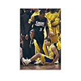 Allen Iverson Poster, Basketball All Star Player, You Can't Stop Me, Classic Action, Most Valuable Player, High Definition Poster Canvas Poster Decorative Painting Canvas Wall Art Living Room Posters