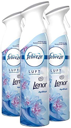 Febreze Lufterfrischer-Spray Lenor Aprilfrisch, 3 x 300 ml