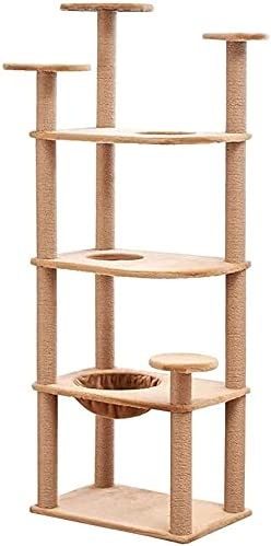 We OFFer at cheap prices LIOYUHGTFY Cat Tree Tower High quality new Condo Scratching Post Toy Climbing