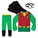 Teen Titans Go! Pijama Niño, Pijamas Niños de Superheroes con Capa y Mascara, Ropa Niño de Algodon, Regalos para Niños y Niñas Edad 4-12 Años (Multi, 7-8 años)