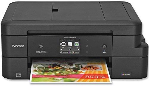 Brother MFC-J985DW Inkjet Multifunction Printer - Color - Plain Paper Print - Desktop - Copier/Fax/Printer/Scanner - 6