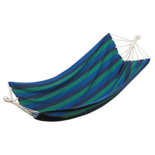 StanSport Unisex's Balboa Cotton HAMMOCK-DOUBLE-79 in X 57 30700 Catalina Hammock, Multicolored, One size