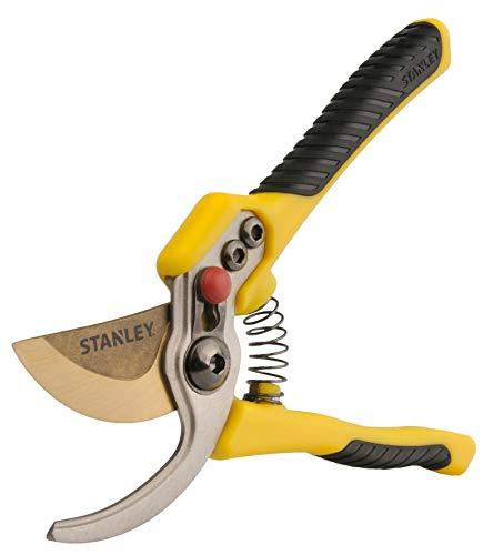 STANLEY Accuscapeª ProSeries - Tijeras de podar, color amarillo